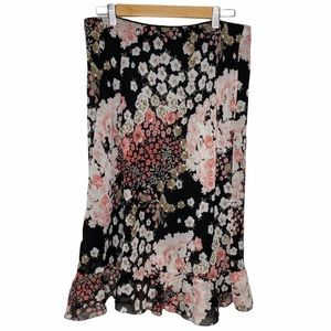 Daniel Laurent Floral Skirt Sz XL